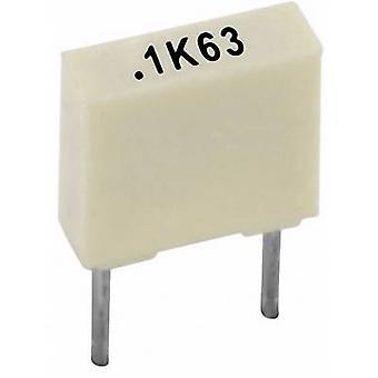 Kemet R82EC2100AA50K+ PET capacitor Radial lead 10 nF 100 V 10 % 5 mm (L x W x H) 7.2 x 2.5 mm x 6.5 mm 1 pc(s)