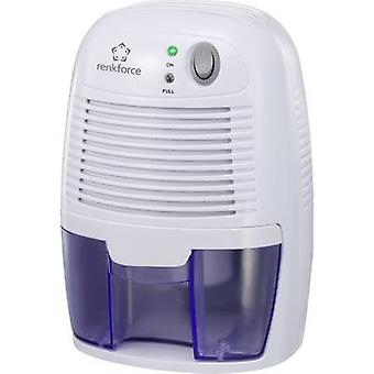 Renkforce HD-68W Dehumidifier 20 m² 0.011 l/h White, Blue