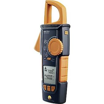 testo 770-1 Clamp meter, Handheld multimeter Digital Calibrated to: Manufacturer's standards (no certificate) CAT III 1