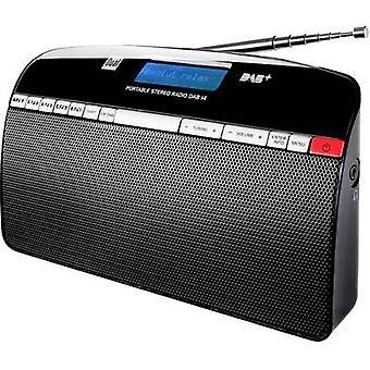 Dual DAB 14 DAB+ Portable radio DAB+, FM Black