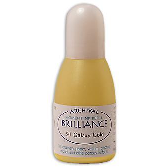 Brilliance Ink Refill .7oz-Galaxy Gold