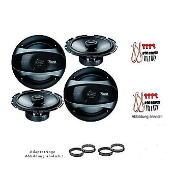 Audi A4, A4 avant, Kit, door speakers front and rear