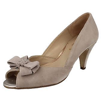 Ladies Van Dal Smart Peep Toe Shoes Abbey
