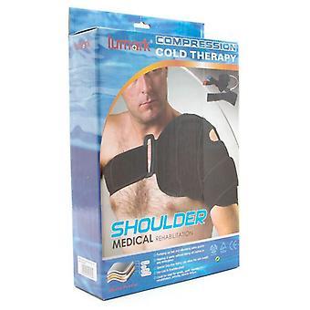 Med フィット - 冷間圧縮肩カフ - クライオ療法傷害氷パック