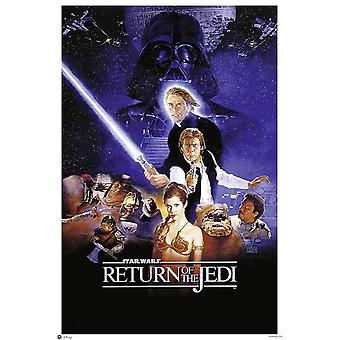 Star Wars posters return of the Jedi style B
