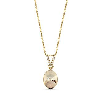 Necklace Oval Chic Gold