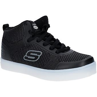 Skechers Boys Energy Lights Halation High Top Trainers