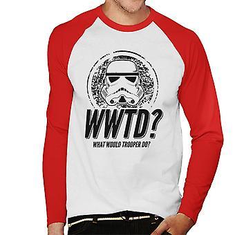 Ursprungliga Stormtrooper Trooper gör mäns Baseball Långärmad T-Shirt