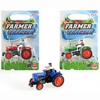 Tractor die-cast available in 3 an