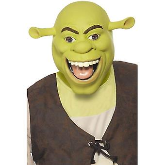 Shrek Latex Mask, One Size