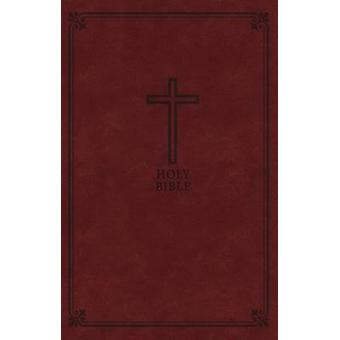 LSG - cadeau Deluxe Bible - simili cuir - marron - Red Letter Edition
