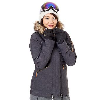 Roxy True Black Meade Womens Snowboarding Jacket