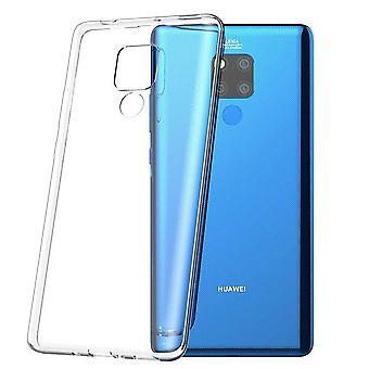 Para Huawei companheiro 20 X Silikoncase TPU proteção saco transparente capa case bolsa acessórios novos
