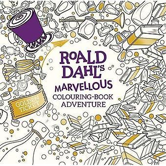 Roald Dahls wunderbaren Malbuch Abenteuer (Malbücher)