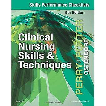Färdigheter prestanda checklistor för klinisk omvårdnad färdigheter & tekniker