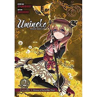 Umineko wenn sie schreien, Episode 4: Alliance of the Golden Witch, Vol. 2