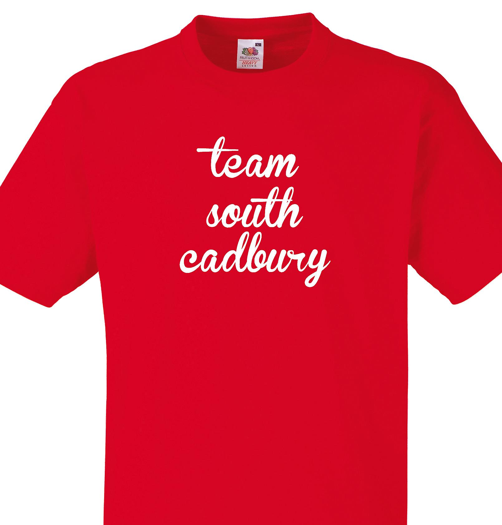 Team South cadbury Red T shirt