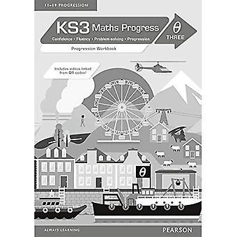 KS3 Maths Progress Progression: Workbook Theta 3 (KS3 Maths series)