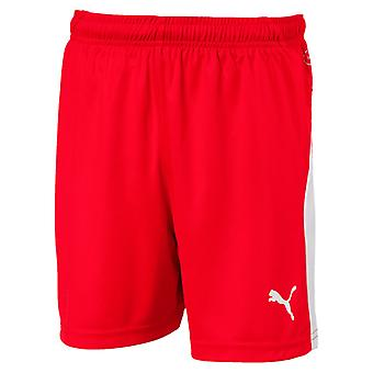PUMA League s Jr kids of soccer shorts Red