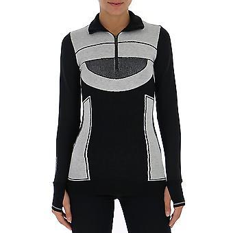 Adidas By Stella Mccartney Black Wool Sweater