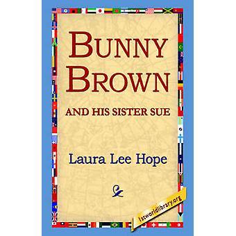 Conejo marrón y su hermana Sue por la esperanza y Laura Lee