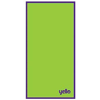 Toalla de playa de Yello, verde