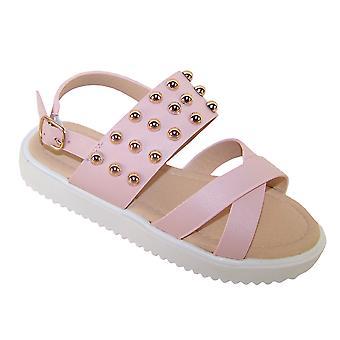 Girls pink fashion summer sandals
