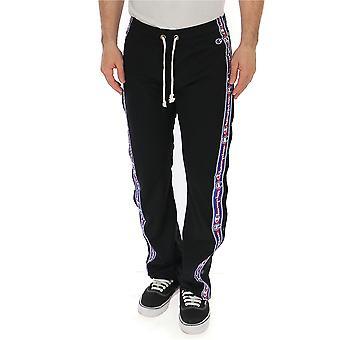 Champion Black Polyester Jumpsuit