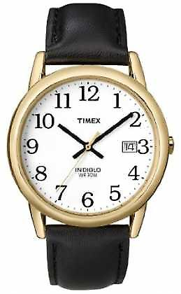 Timex Mens White Black Easy Reader T2H291 Watch