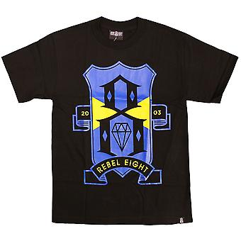 Rebel8 R8FC T-shirt Black