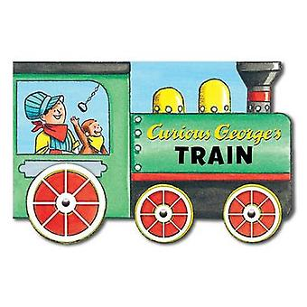 Curious George's Train (Mini Movers Shaped Board Books) by H A Rey -