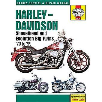 Harley Davidson Shovelhead & Evolution Big Twins - 1970 - 1999 by Anon