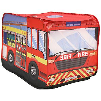 Charles Bentley Fire Engine Play Zent Indoor Outdoor Polyester Pop Up-100% Polyester Cover-3 + Jahre