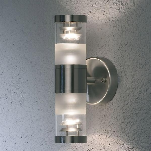 Konstsmide 7595-000 Bolzano Steel Outdoor Wall Light