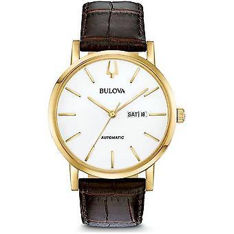 Bulova-Classic 97C107 Men's Classic automatisch horloge