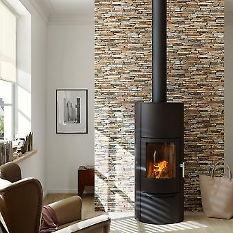 A.S. Creation Wood N Stone Rural Slate Natural Stone Photo Wallpaper 914217