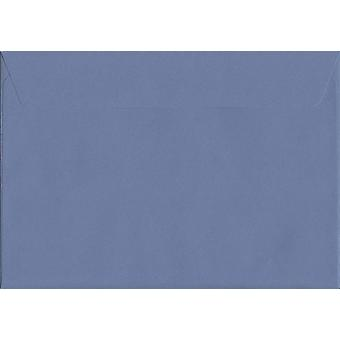Summer Violet Peel/Seal C4/A4 Coloured Purple Envelopes. 120gsm Luxury FSC Certified Paper. 229mm x 324mm. Wallet Style Envelope.