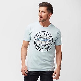 New Hi Tec Men's Split Screen Short Sleeved T-Shirt Grey