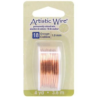 Artistic Wire Dispenser 4 Yards Pkg Natural 18 Gauge Awd1810