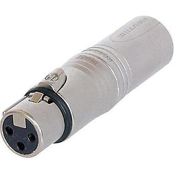 XLR adapter XLR socket - XLR plug Neutrik NA 3 FM 1 pc(s)