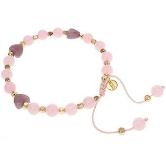 Lola Rose Tallia armband Vlierbes & roze Champagne