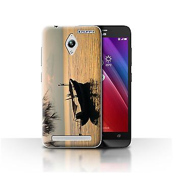 STUFF4 Case/Cover for Asus Zenfone Go ZC500TG/Fishing Boat/Thailand Scenery