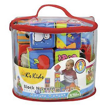 K's Kids Soft Blocks Learning (Toys , Preschool , Puzzles And Blocs)