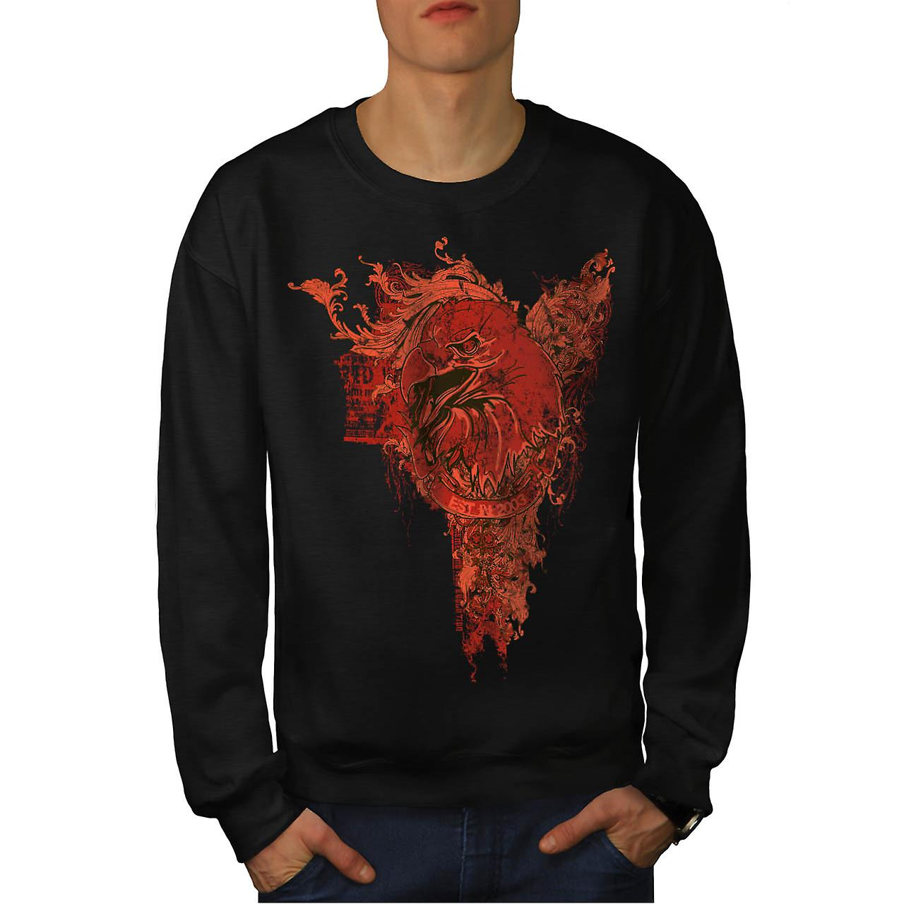 Grim Reaper Death Vintage Men Black Sweatshirt | Wellcoda