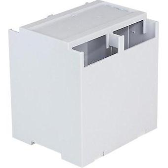 DIN rail casing Cover (gray) 106.2 x 100 x 31.9 Polycarbonate (PC) Grey Axxatronic CDIB/6ST/D2-KIT-CON 1 pc(s)