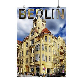 Matte or Glossy Poster with Berlin Photo City Fashion Germany | Wellcoda | *q144