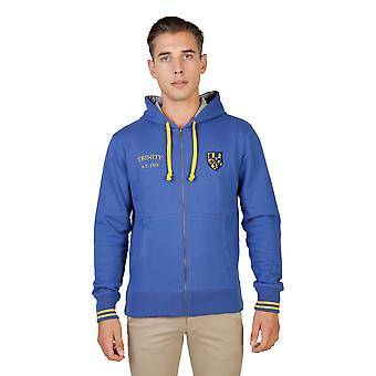 Oxford University Pullover Männer blau