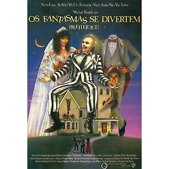 Beetlejuice Movie Poster (11 x 17)