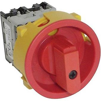 Switch disconnector fuse lockable 20 A 400 V 1 x 90 ° Red, Yellow BACO NS3EV48 1 pc(s)