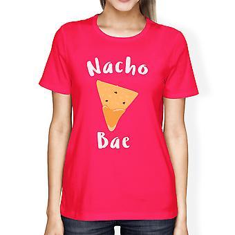 Nocho Bae Women's Hot Pink T-shirt Creative Anniversary Gift Ideas